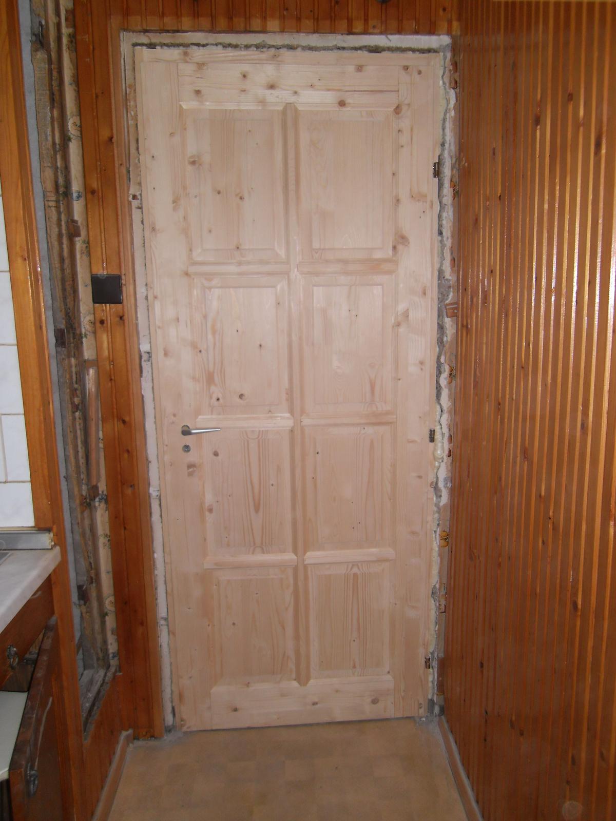 Beltéri gerébtokos fa ajtó. - Rikk-szaki - indafoto.hu
