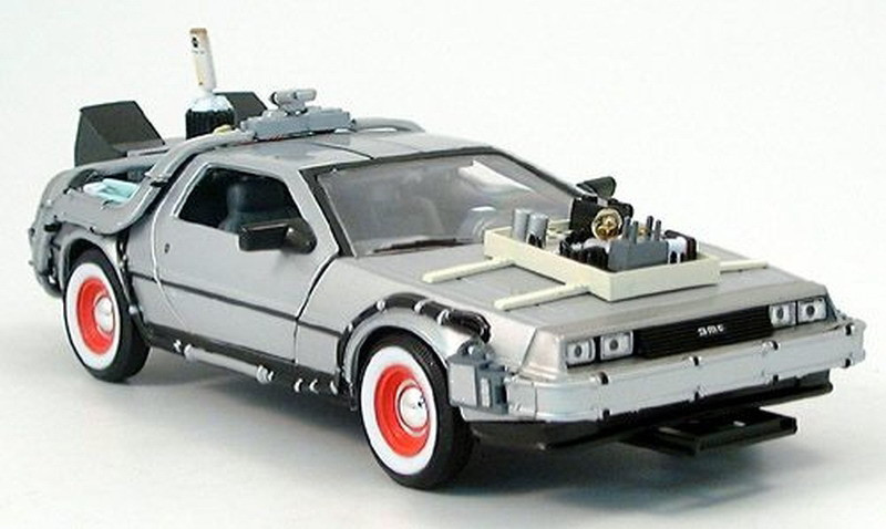 delorean btfiii 1-24 welly