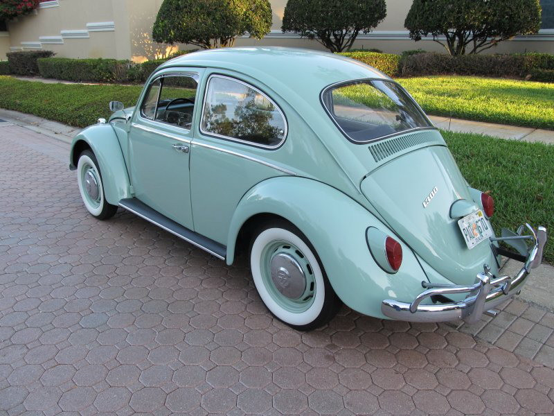 1966-VW Volkswagen-Beetle - Coccinelle - Fusca - Kafer - Kever-1