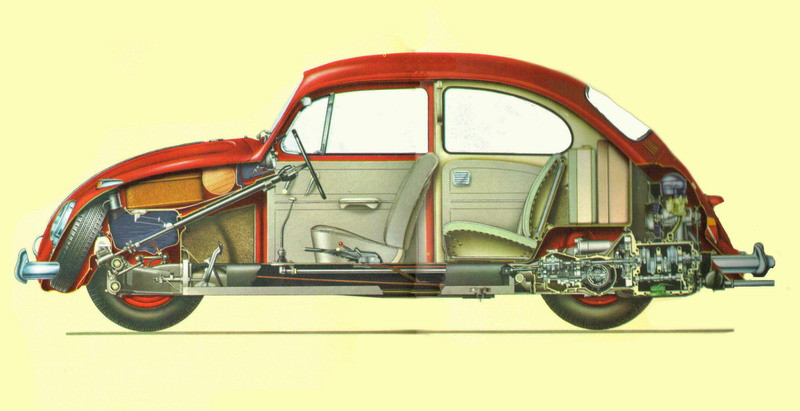 explodedview1966beetle