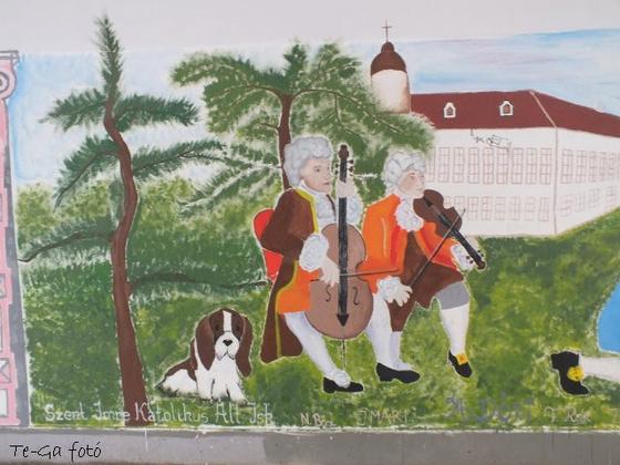 gödöllő aluljáró falfestmény9