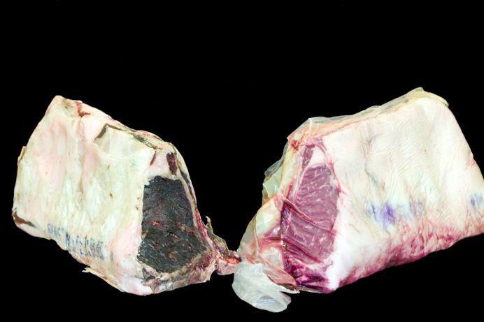 Steak szárazon és nedvesen érlelve