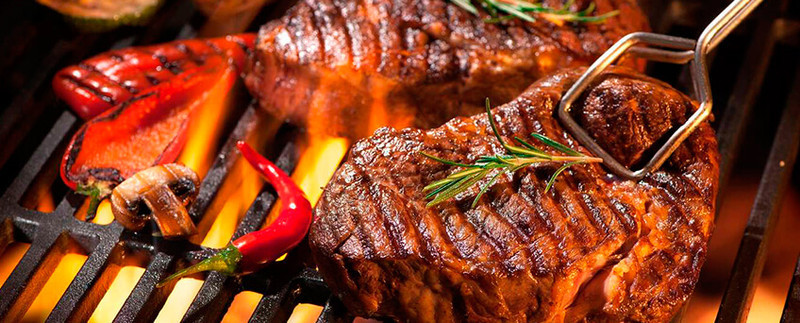 Steak grillezés