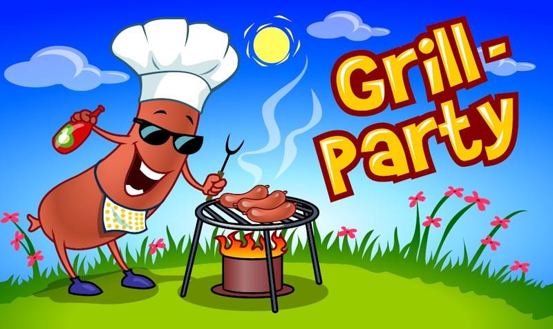 Steak grillparty rajz