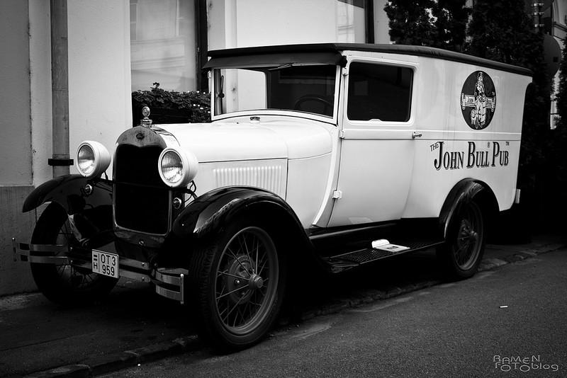 Ramen: Ford Woody 1930 - indafoto.hu