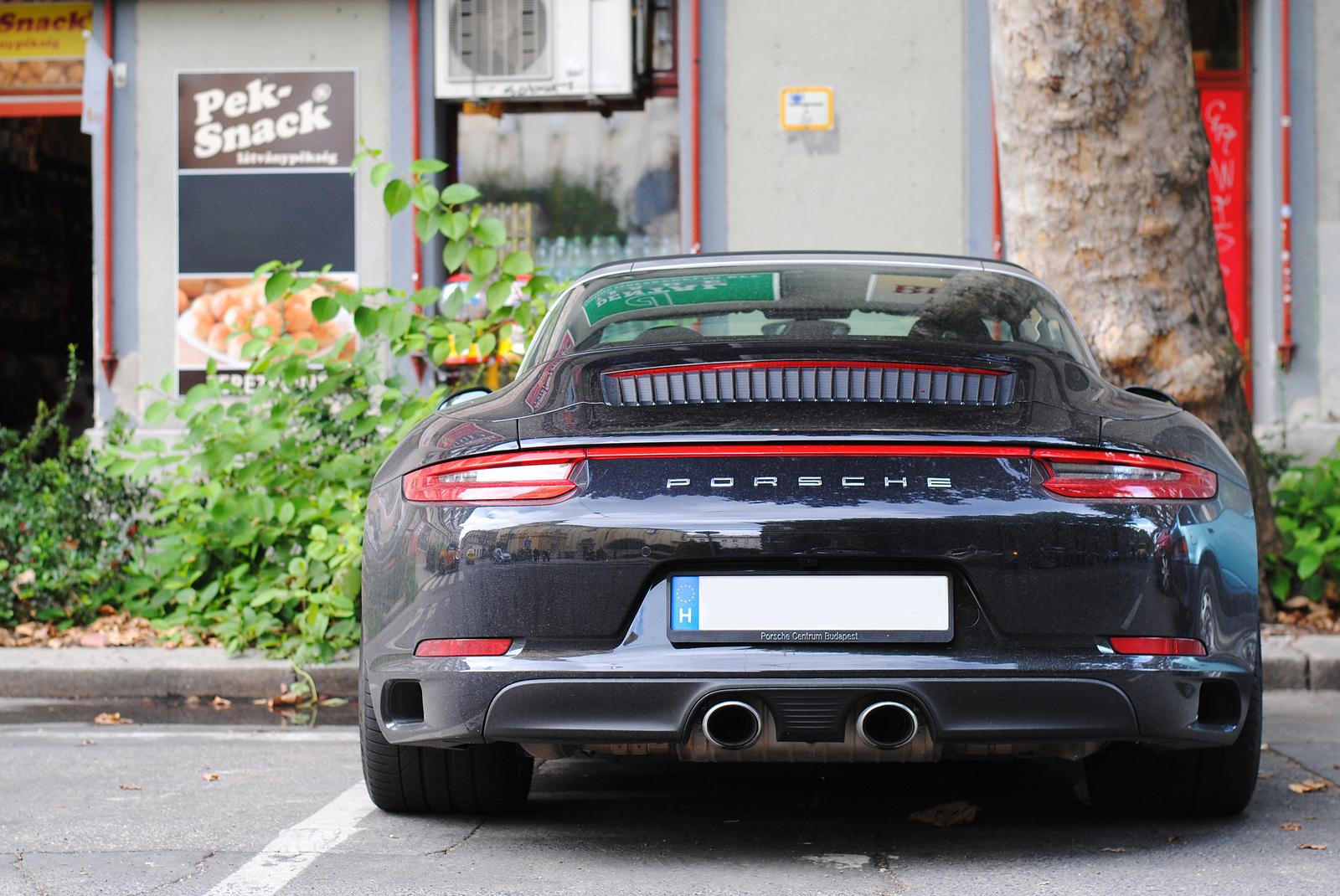 Porsche 911 (991) Targa 4/4S MkII