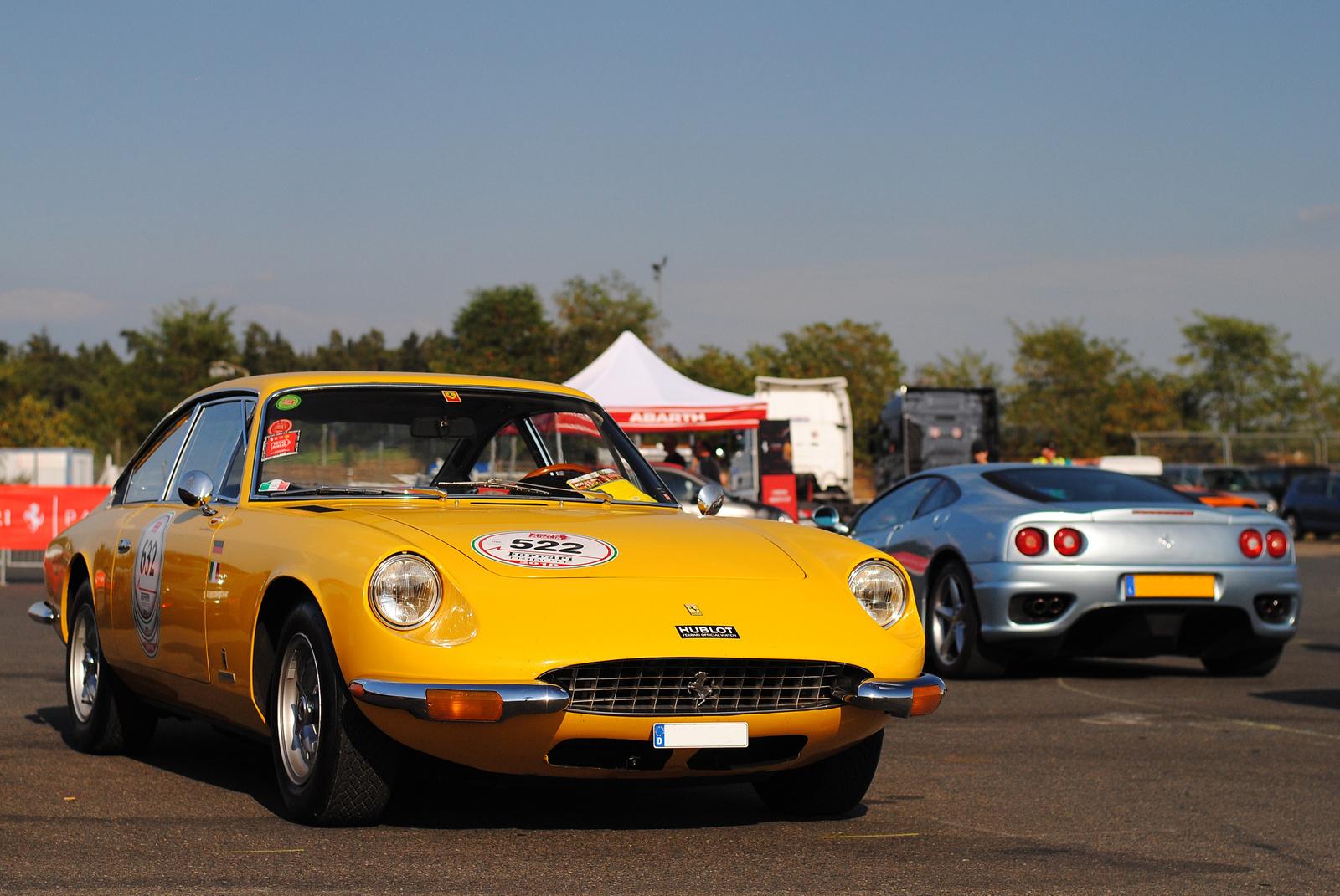 Ferrari 365 GT 2+2 - Ferrari 360 Modena