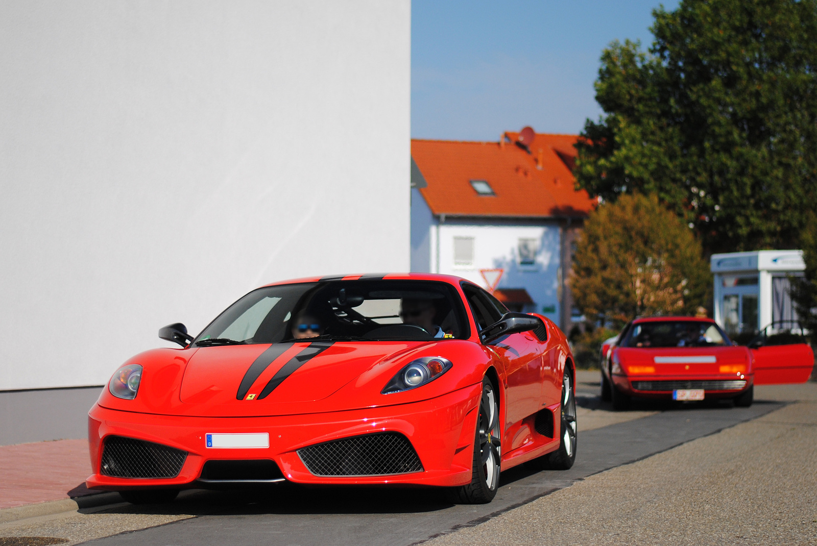 Ferrari 430 Scuderia - Ferrari 365 GT4 BB