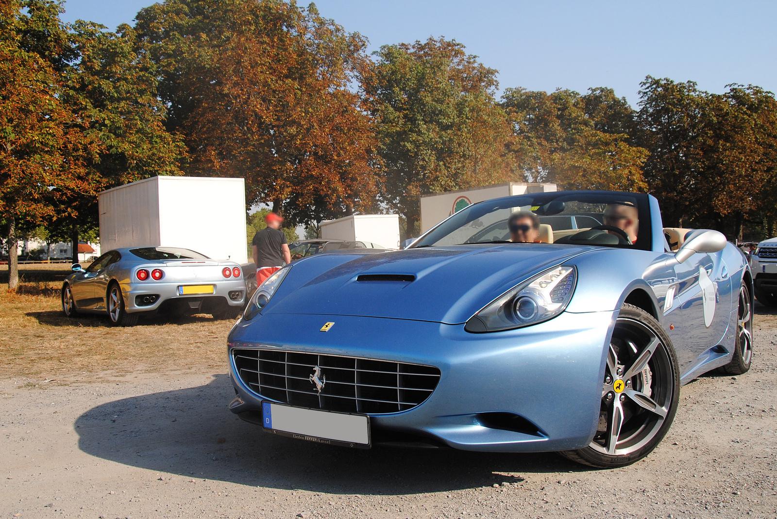 Ferrari 360 Modena - Ferrari California