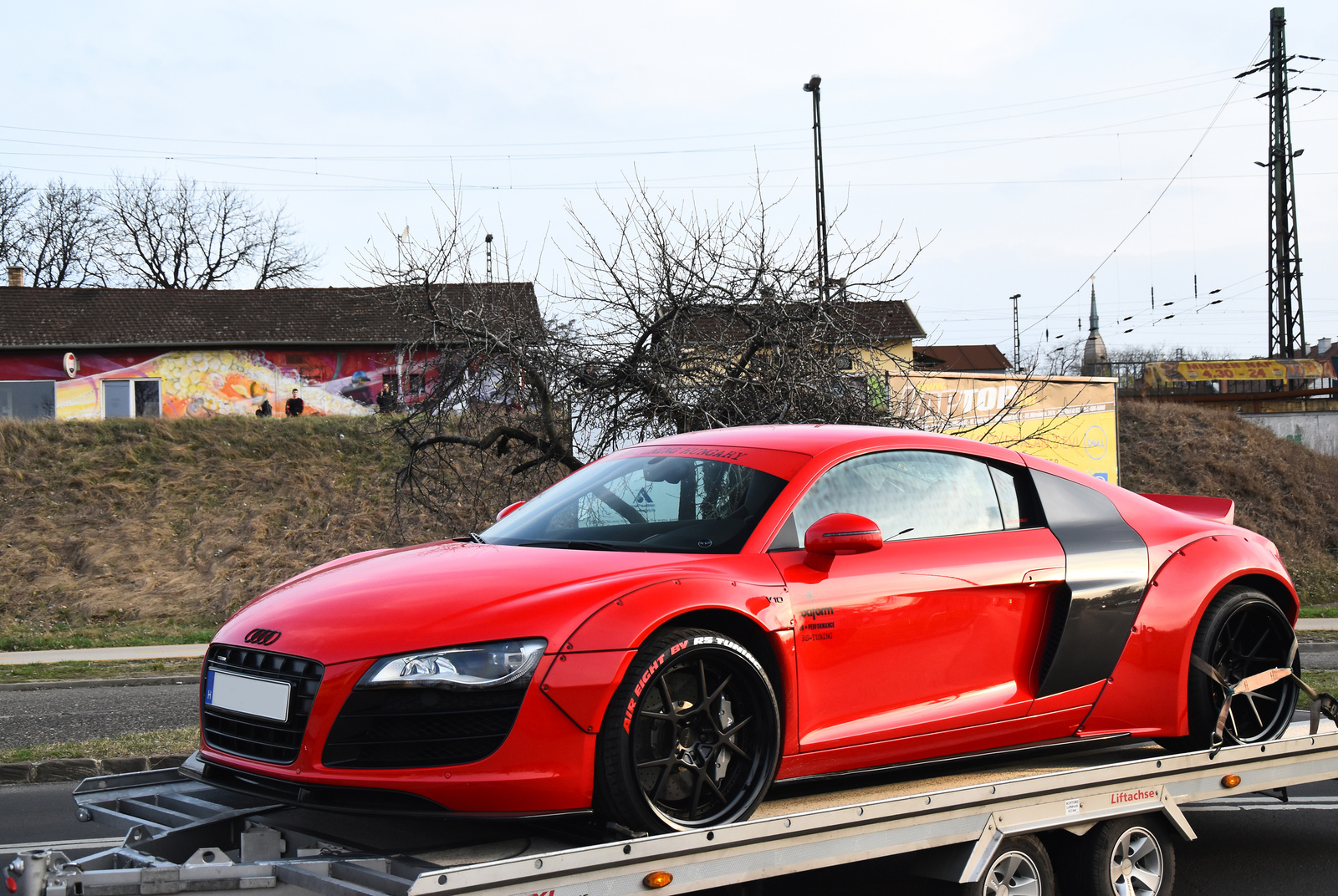 Audi R8 V10 Liberty Walk
