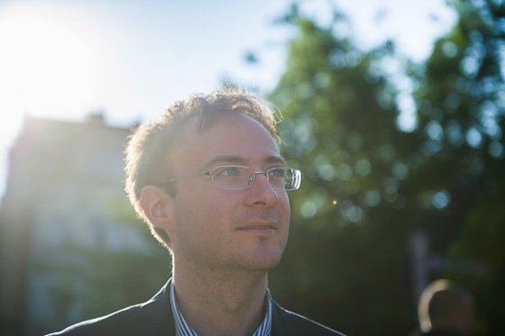 Stefano Bottoni történész, Kelet-Európa-kutató  Fotó: Stiller Ákos