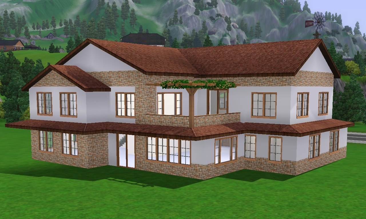 17 photos and inspiration sims 2 houses ideas for House 4
