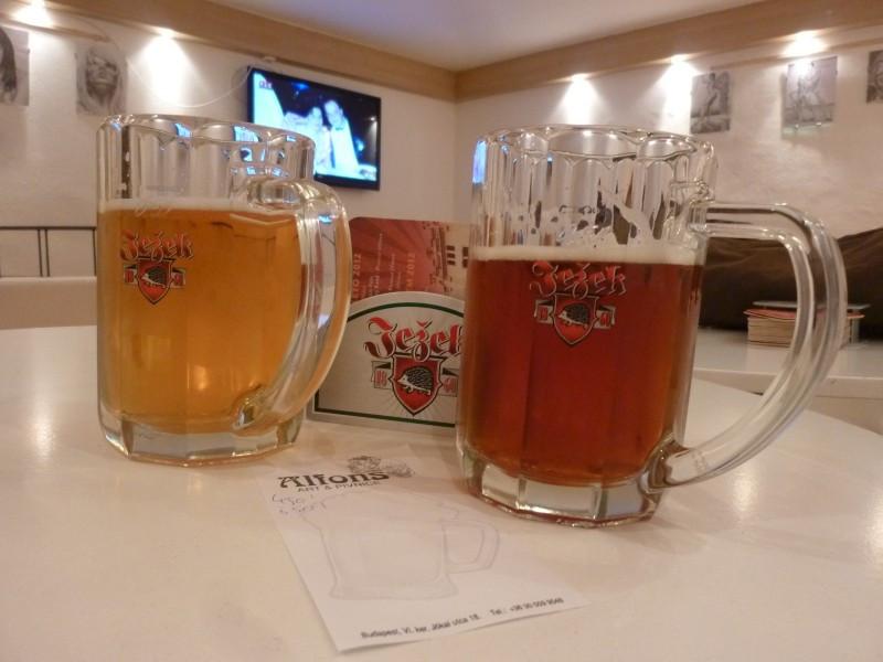 A sörök szépek