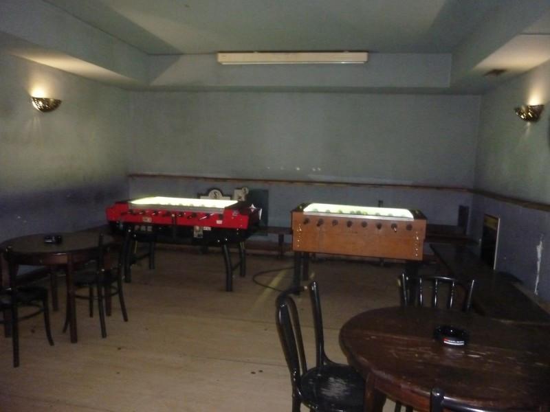 Két csocsóasztal