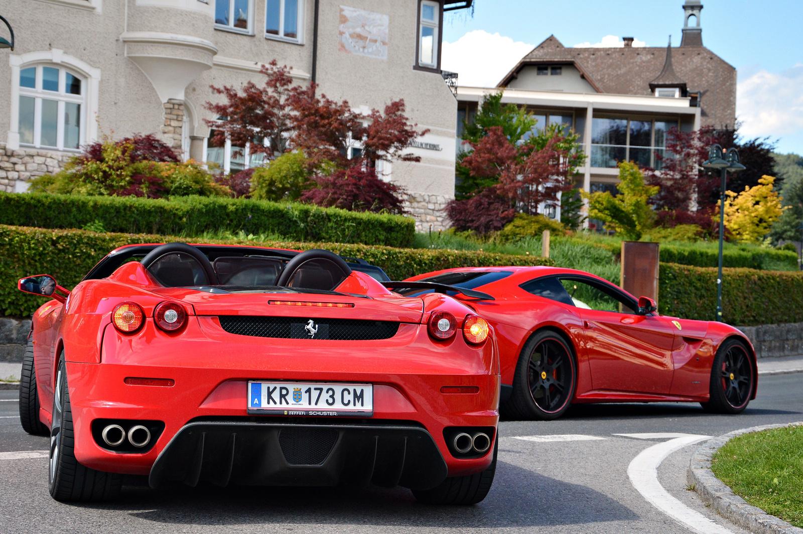 Ferrari F12berlinetta -- F430 Spider