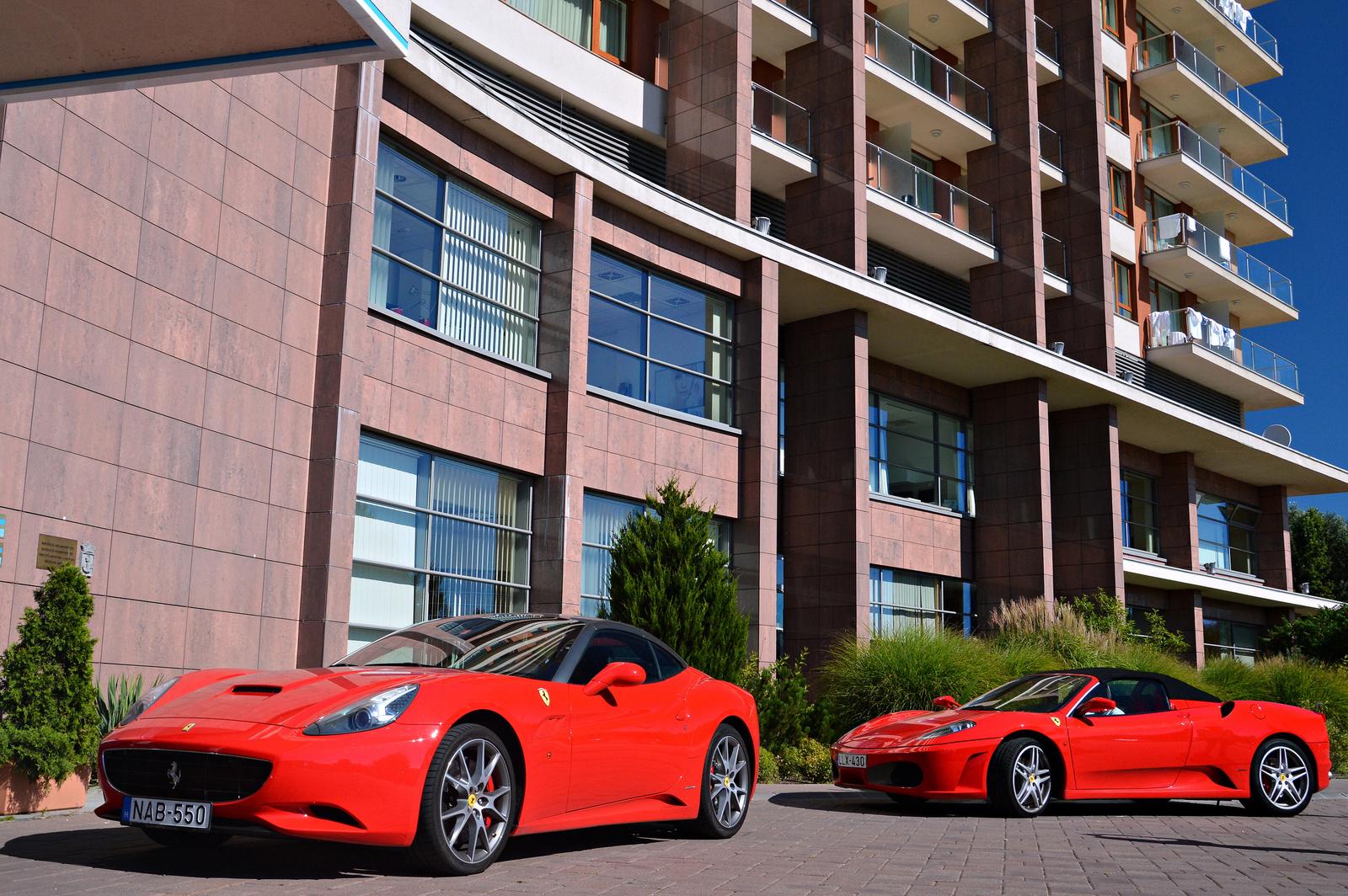 Ferrari California -- F430 Spider