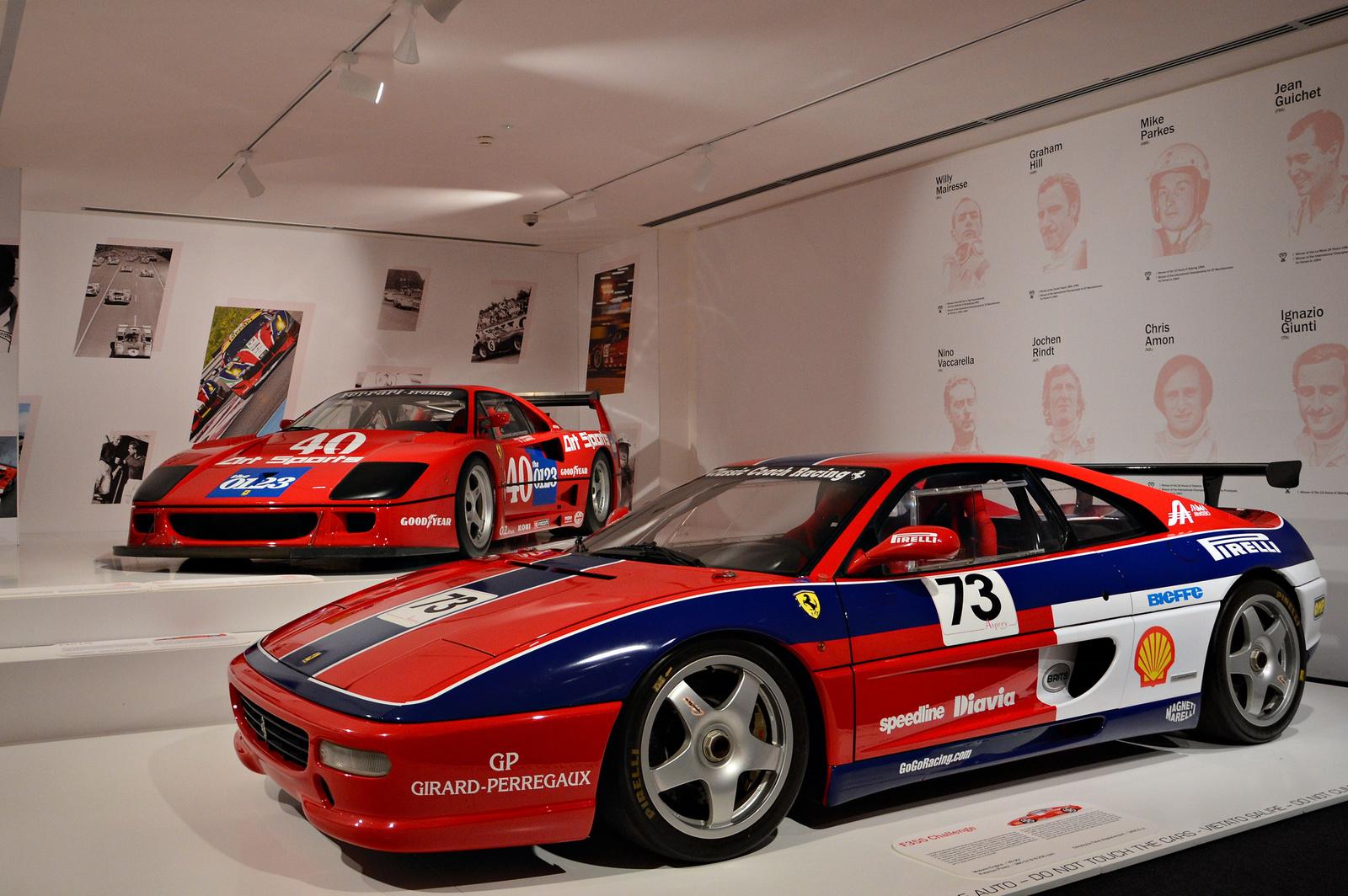 Ferrari F355 Challenge -- F40 LM