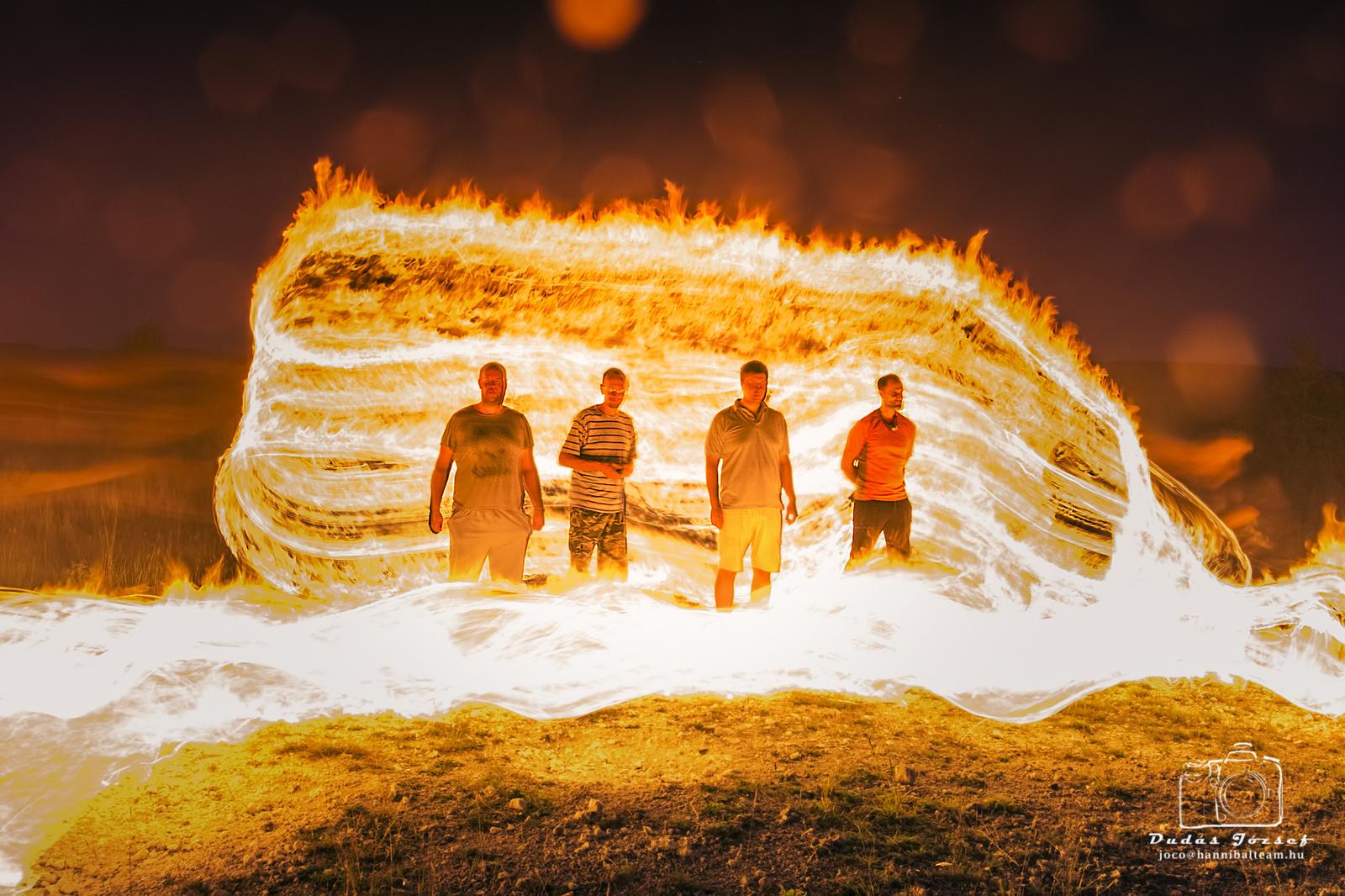 Tűzben edzett férfiak