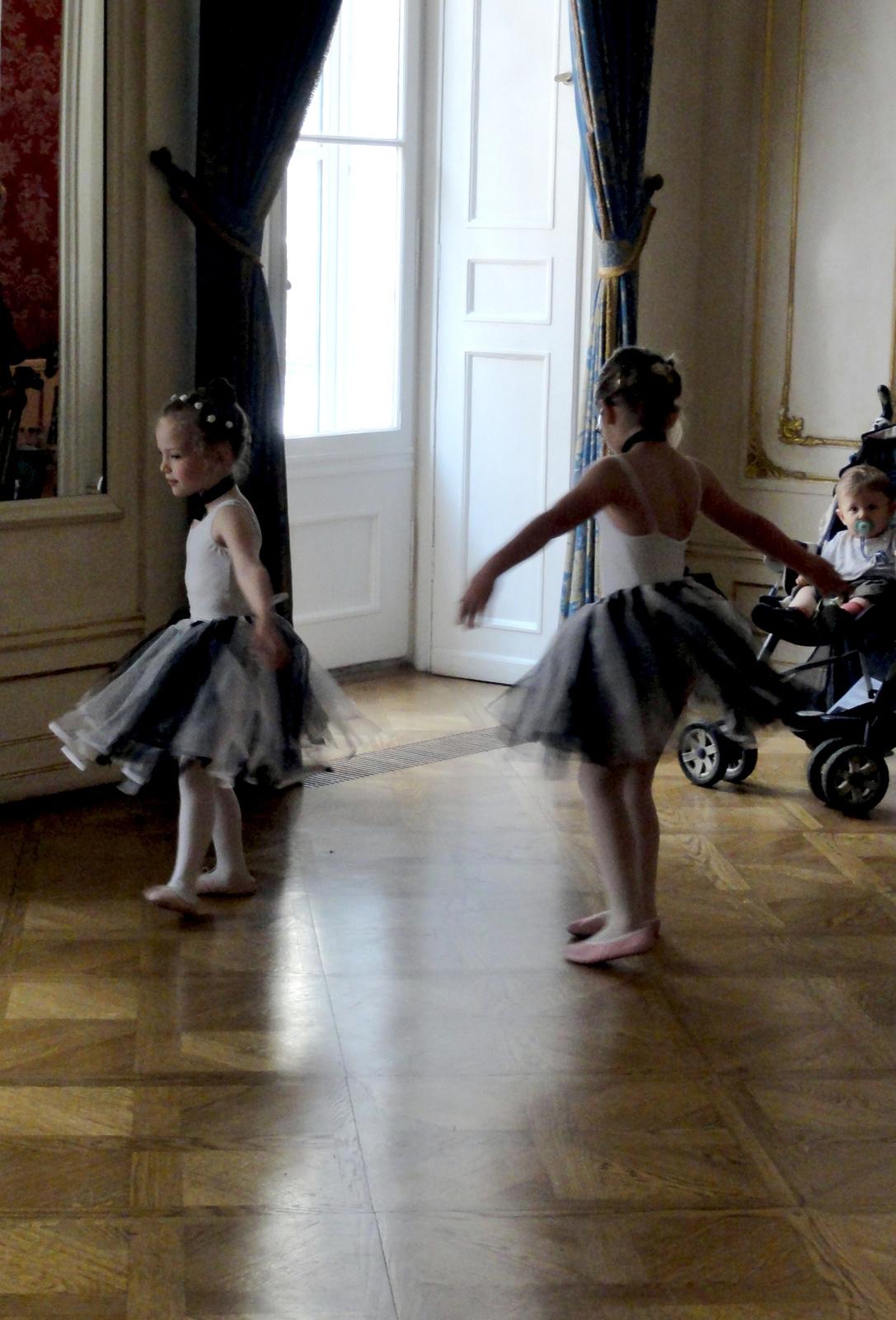 Akár egy Degas festmény...