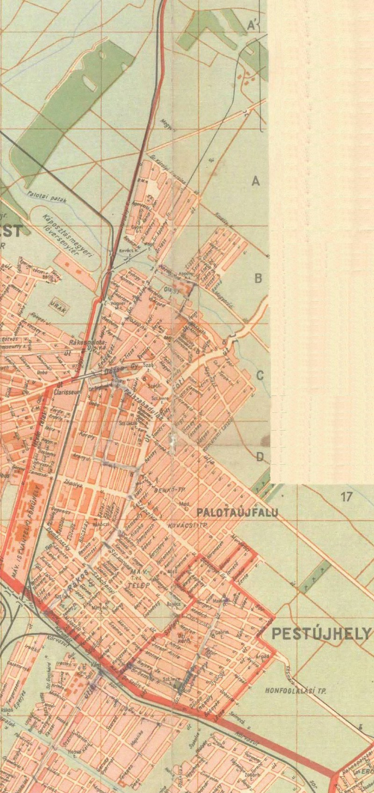 Rákospalota és Pestújhely 1947-ben