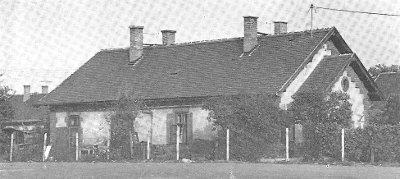 MÁV-telep, földszintes ház