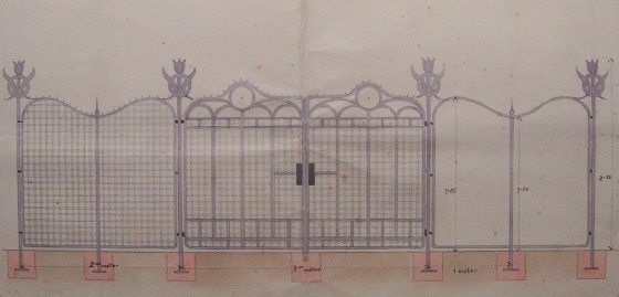 Rákospalota, Kossuth-szobor kerítés