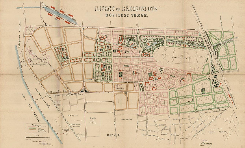 Újpest és Rákospalota rendezési terve