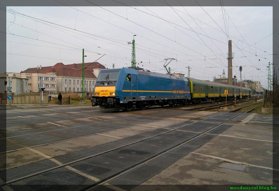 0001 Traxx Győrben