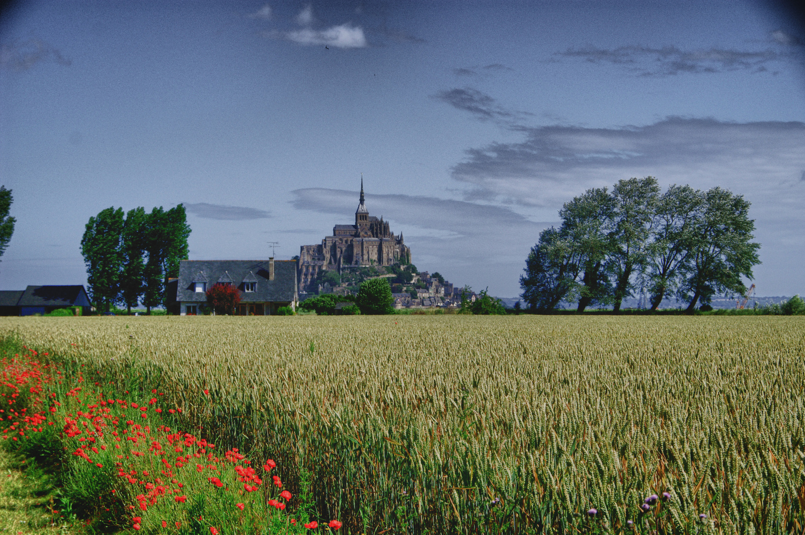 Mont Saint Michel HDR