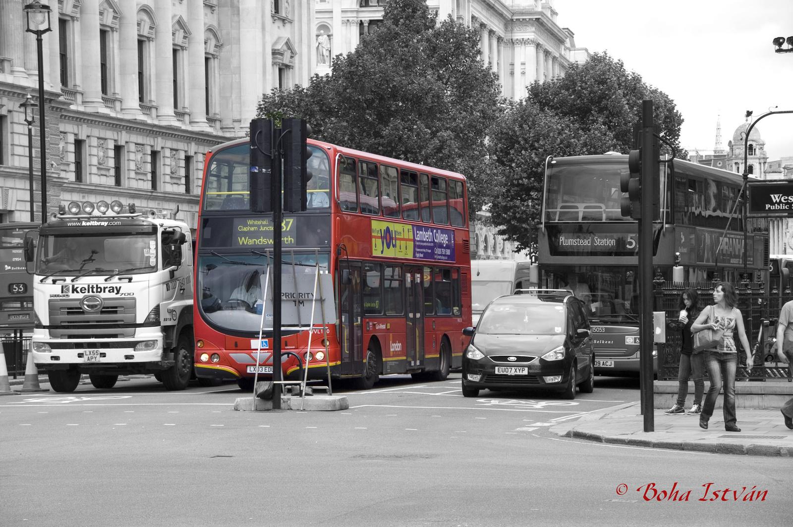 Piros Busz Londonban
