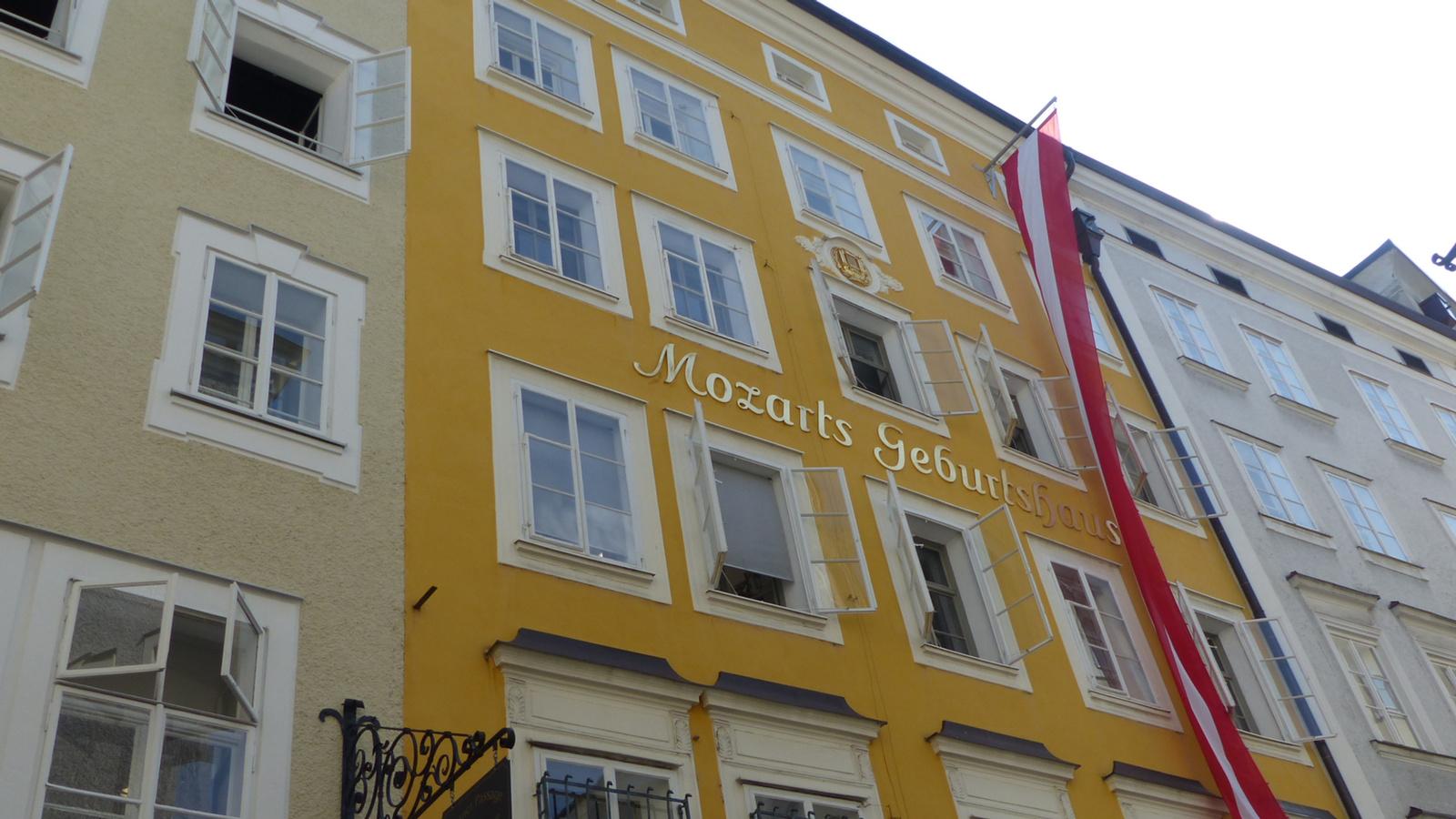 Salzburg, Mozart Geburtsthaus, SzG3