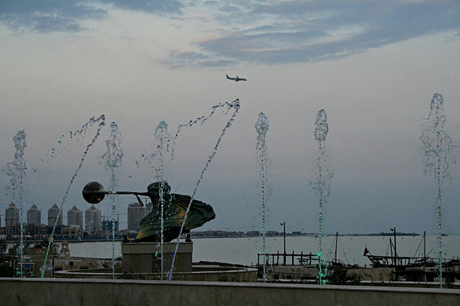Repülés a vízcseppek felett