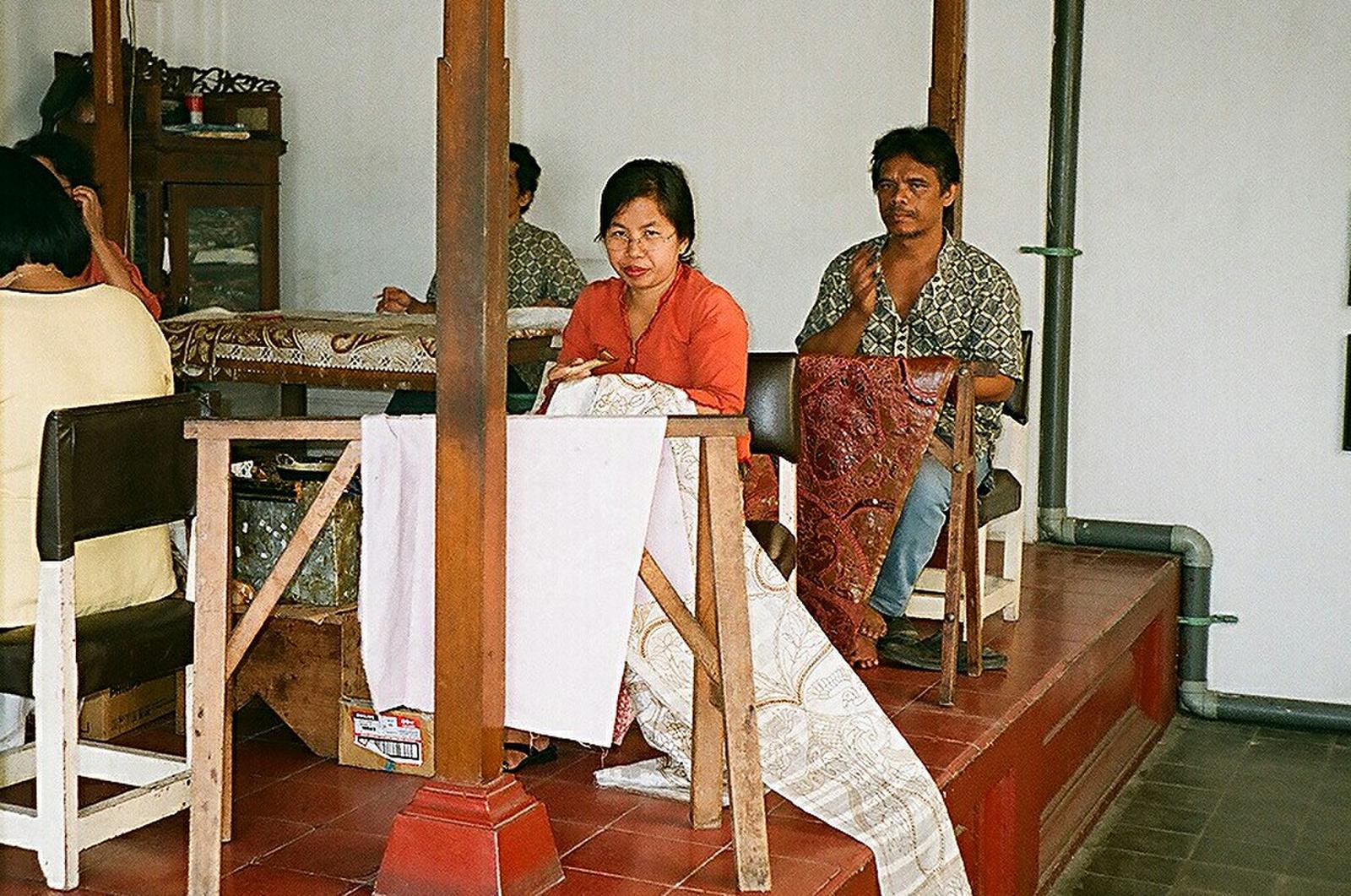 Batikoló műhely
