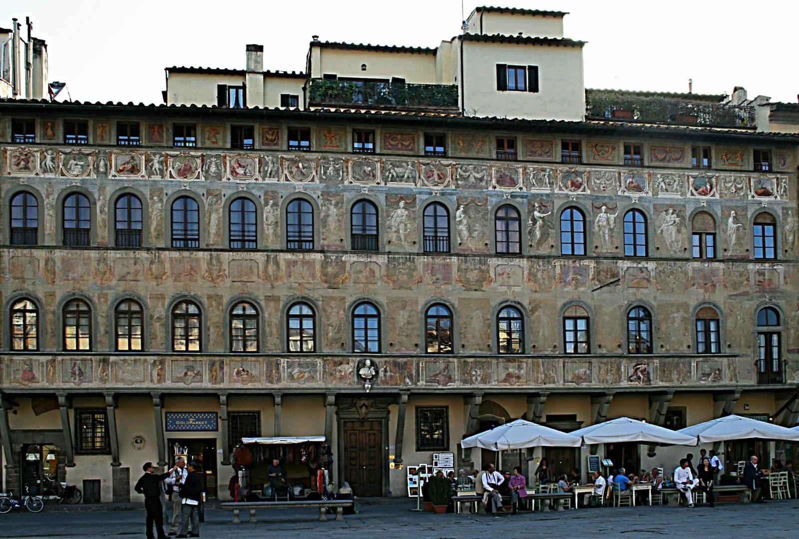 Firenzei teraszozók