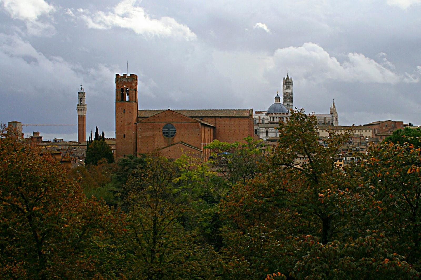 Siena tornyai