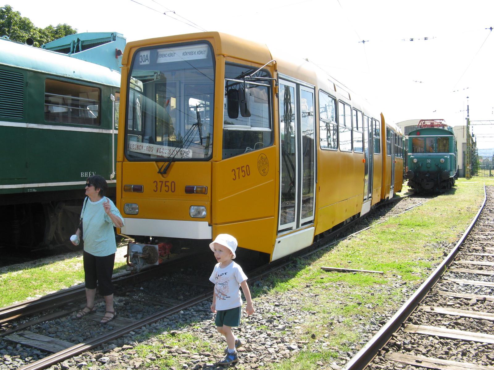 Hungaroplan villamos Szentendrén