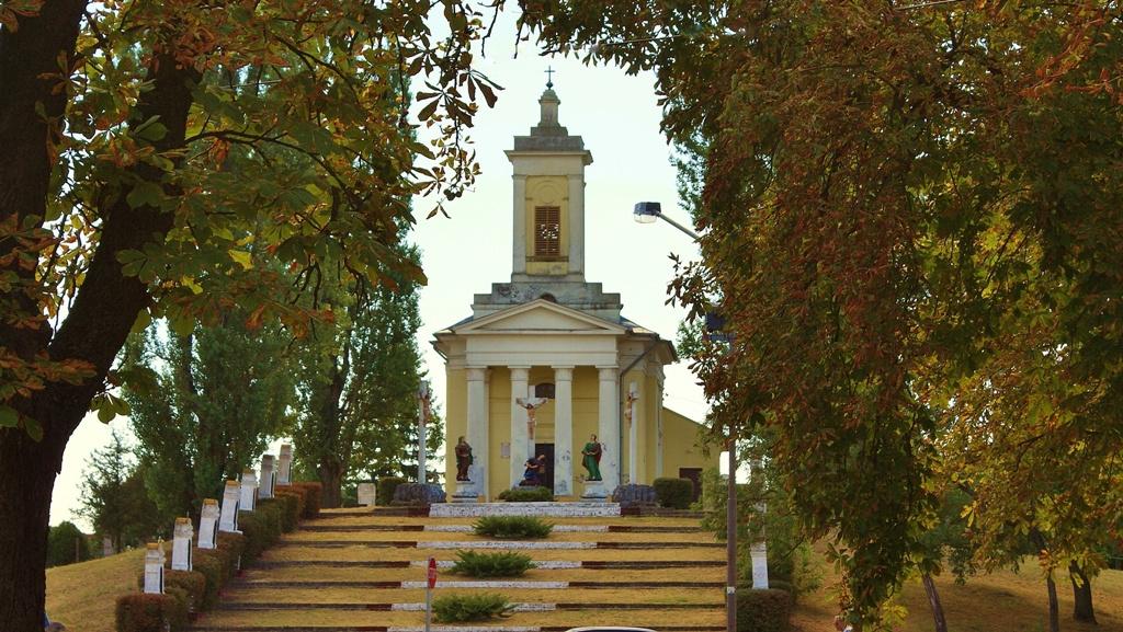 Baja Kálvária templom - Hild József tervei alapján