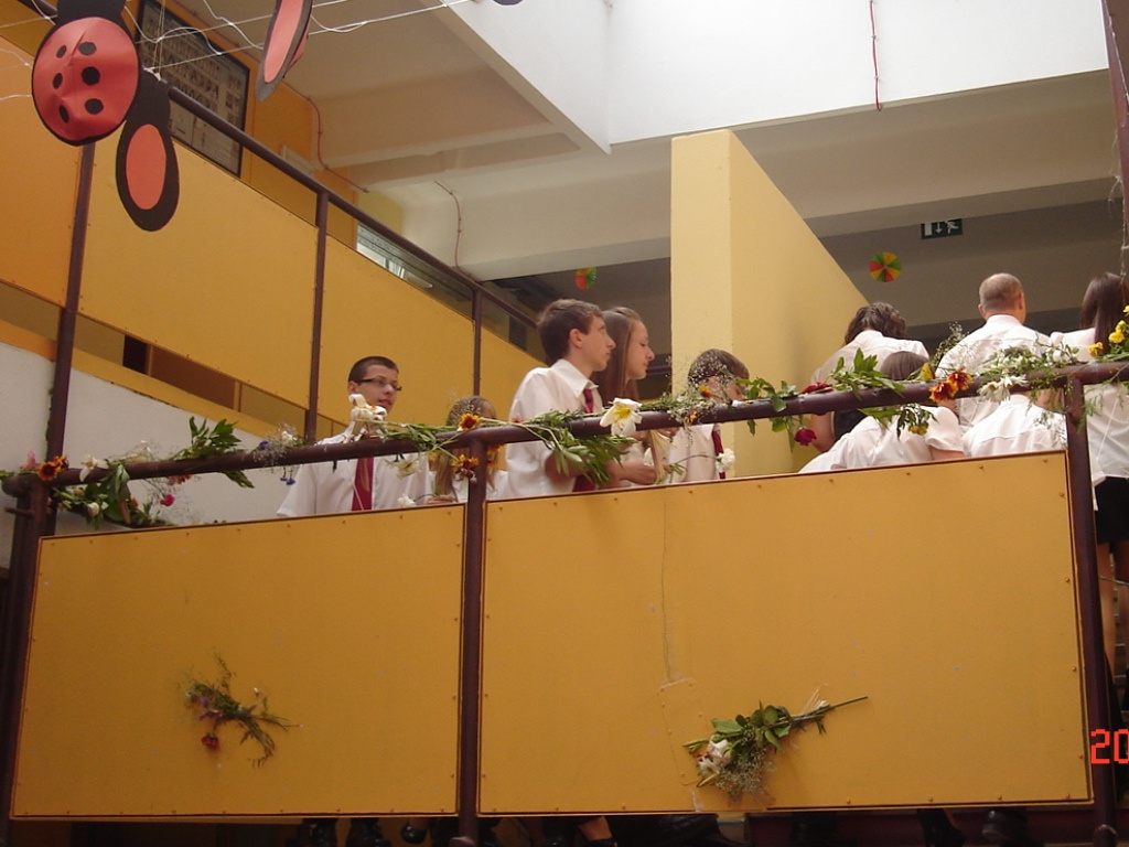 2012: Búcsú iskolánktól 8.b