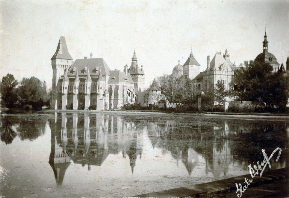 Vajdahunyadvar-1913Korul-fortepan.hu-156493