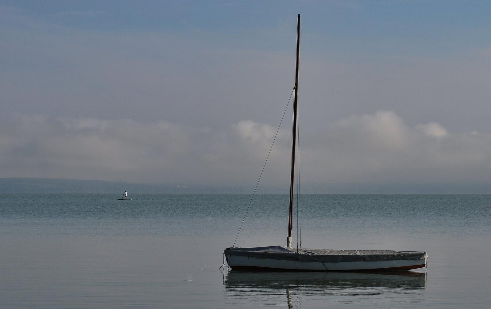 Merengés a parton reggel