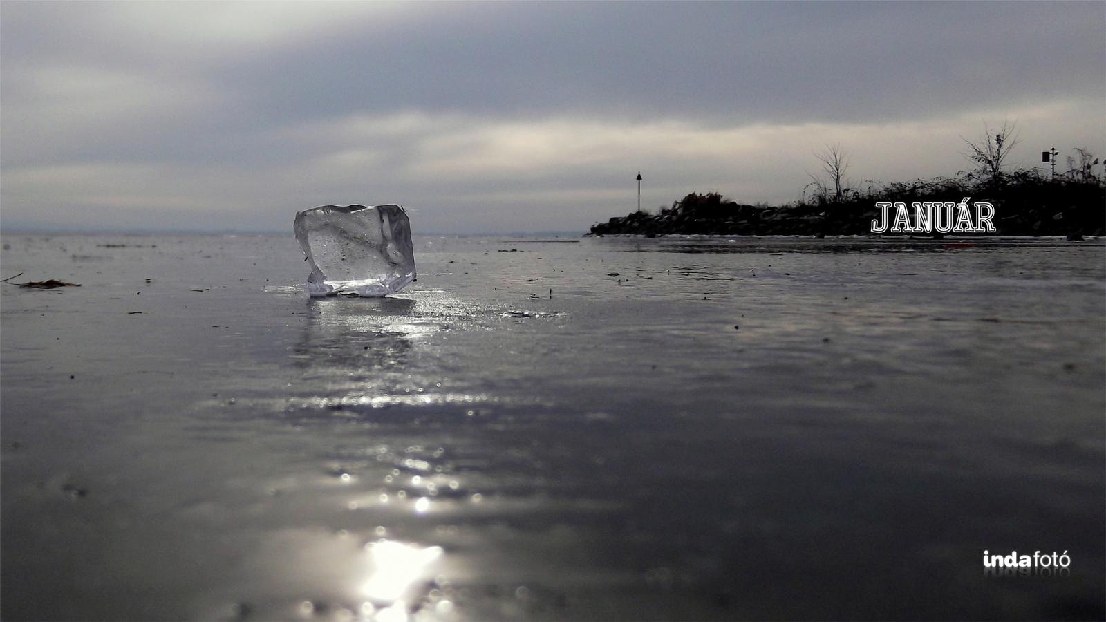 jégkocka januárra