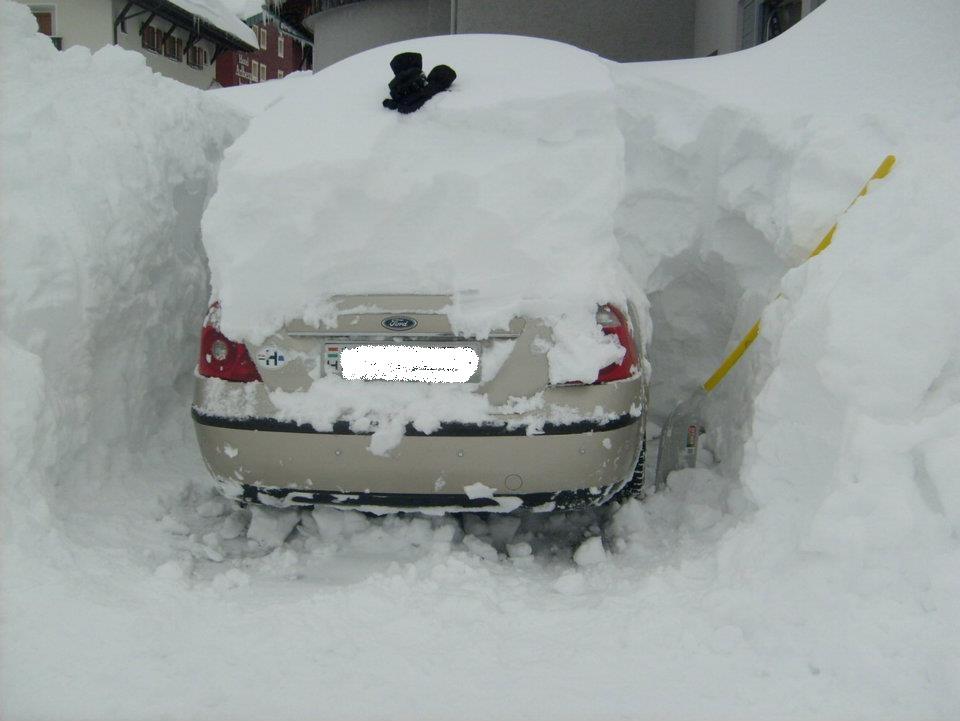 Friss (hó)helyzet jelentés Ausztriából