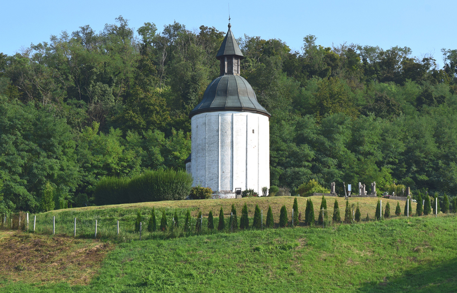 Árpád-kori körtemplom, Kallósd 3