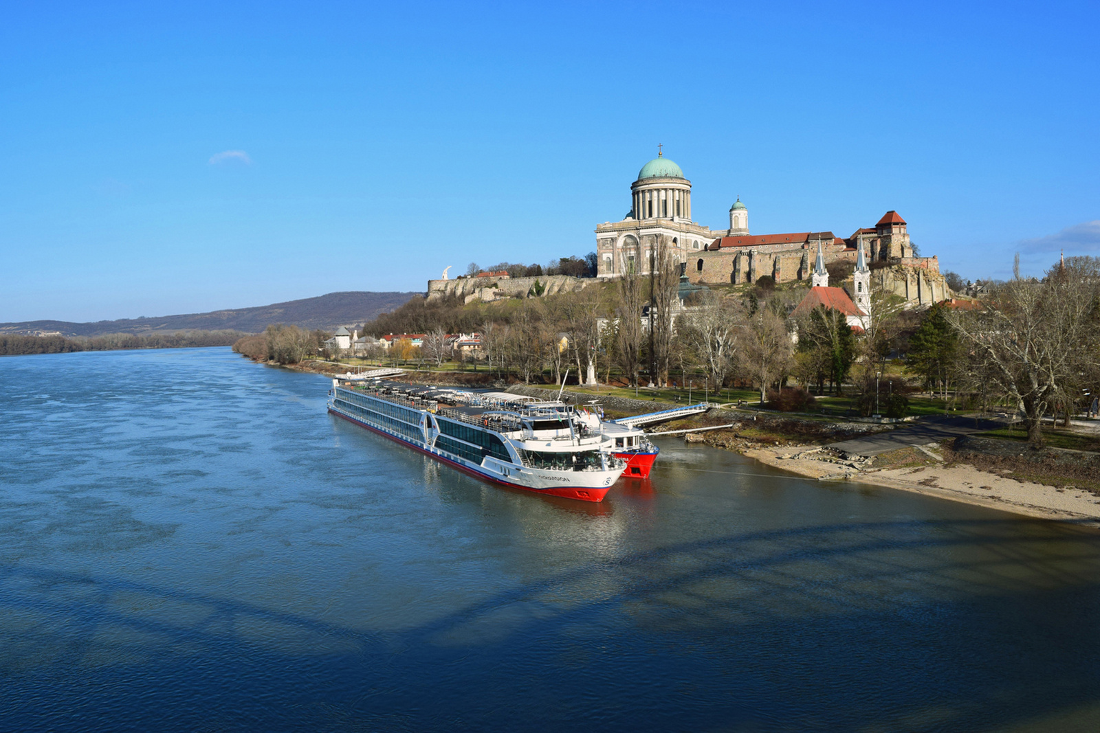 A téli Duna-parton