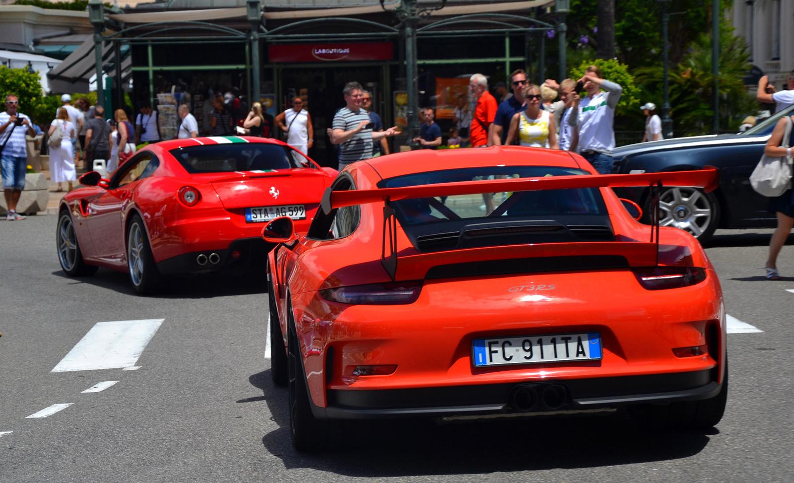 Ferrari - Porsche