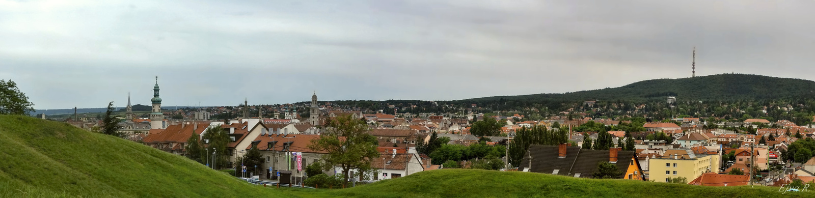 Sopron panoráma