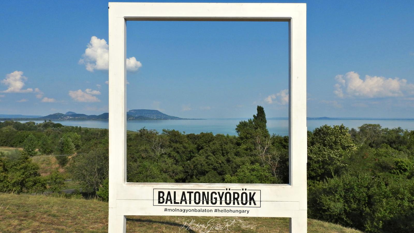 Balaton Táj Nyár