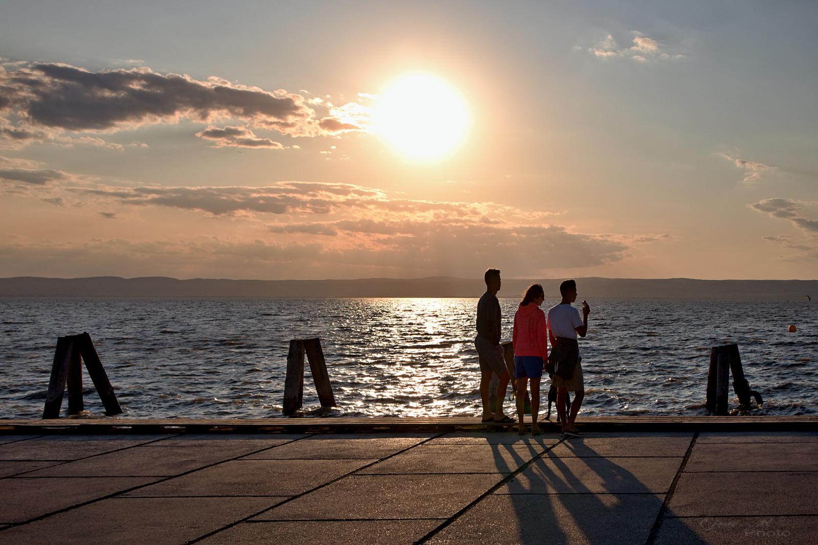 Naplemente Fertő-tó