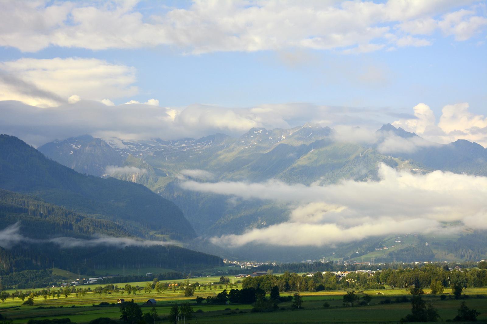 A Kitzsteinhorn hegyvidéke