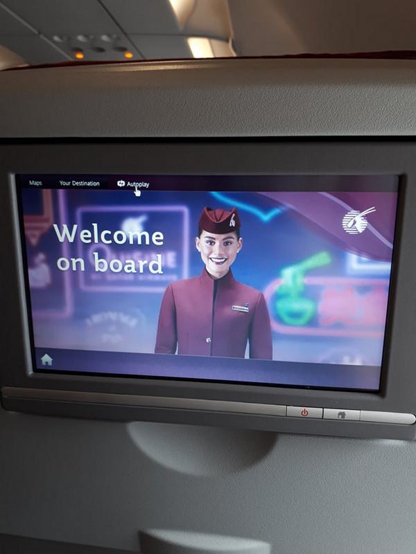 IFE még a kis A320-as fedélzetén is volt gazdag programválasztékkal